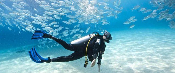 Buceadores presentan trastornos dentales bajo el agua